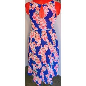 Candie's Dresses - Candies sheer floral high low dress 🌸